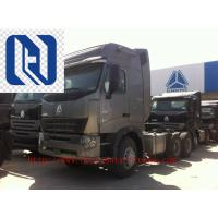 Buy cheap 420HP HOWO A7 Prime Mover Truck Trailer , Diesel 6x4 Transport Trucks , Wild Black product