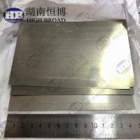 Buy cheap Magnesium Metal Foil Magnesium Alloy Sheet Size  0.1 X 100 X 150 Mm / Pc product