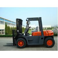 Automatic 6 Wheel Forklift , Material Handling 5 Ton Lifted Diesel Trucks for sale