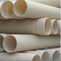 Buy cheap CPVC Double-Wall Corrugated Pipe product