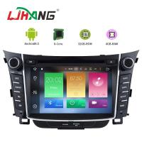Buy cheap 7 Inch Touch Screen I30 Hyundai Car DVD Player Android 8.0 With BT WIFI product