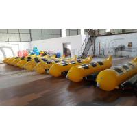 Buy cheap 3 Seats Inflatable Water Banana Boat With 0.9mm PVC Tarpauline Material from Wholesalers