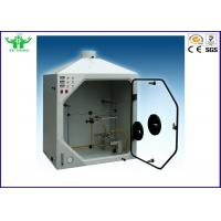 Buy cheap Ul94 50w Vertical / Horizontal Flammability Tester For Plastic Materials product