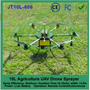 Buy cheap 10L agricultural uav spraying, pesticide crop sprayer drone, uav drone crop sprayer product