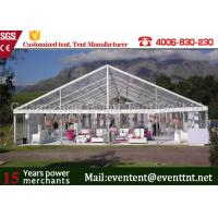 Buy cheap Waterproof  Clear Span Tent Aluminum Frame Structure For Outdoor Restaurant from Wholesalers