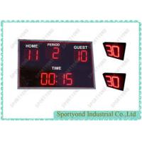Buy cheap Small Portable Led Digital Electronic Scoreboard Sports For Water Polo Game product