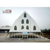 Buy cheap New Style White Church Tent,  Marquee Tents with Windows For Sale from Wholesalers