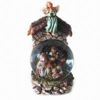 China Jesus Ball, Jesus Family Scene, Christmas Crafts, Christmas Snowman, Suitable for Decorations on sale