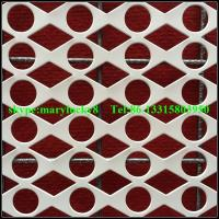 Buy cheap Round Hole Perforated metals supplier/Decorative perforated sheet metal product