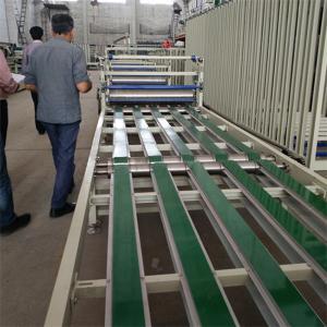 Buy cheap Fireproof / Waterproof Fiber Cement Siding Sheet Assembly Line 1 Year Warranty from Wholesalers