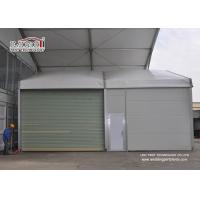 Buy cheap Heavy Snowloading Sidewall Temporary Industrial Storage Buildings Tent / Sun Shade Tent from Wholesalers
