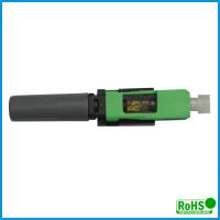 Buy cheap Durable Multimode Fiber Connectors / Green Fiber Patch Cable Connector product