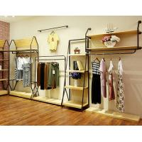 Buy cheap Durable Lady'S Clothing Display Racks Shop Clothes Rack Fashionable Design product