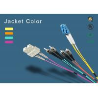 China SC fiber patch cord 100% insertion loss less  on sale