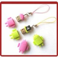 Buy cheap Cute Android Robot Shape Portable USB 2 0 Micro SD Card Reader product