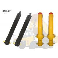 Buy cheap Single Acting Hollow Plunger Hydraulic Cylinder Telescopic Multistage for Dump Truck product