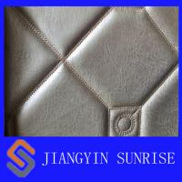 Ageing Resistance Synthetic Leather Fabric Polyurethane