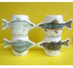 Buy cheap Export 9179fish ceramic mug custom LOGO coffee mark cup product