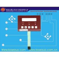 Buy cheap Polyester Membrane Switch Panel , Translucent Window Membrane Key Pad product