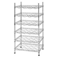 Buy cheap 12 - Bottle Stackable Wine Rack Champagne Bar Accessory Metal Free Standing product