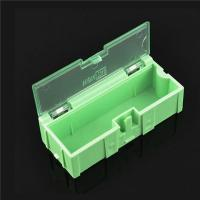 Buy cheap Durable Green SMD Storage Box , Plastic Electronic Components Box product