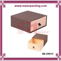 Buy cheap Custom slide drawer paper box/Brown Paper Drawer Box Jewelry Gift Box ME-DR010 product