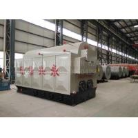 Buy cheap Horizontal Biomass Fired Steam Boiler Wood Pellets Boiler With Automatic Feeding Pellet Stove product
