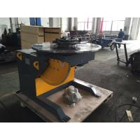 Buy cheap 1400mm Table Piping Rotary Welding Positioners With 4 - Jaws Chuck , 2 Ton Rotation Capacity product