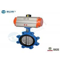 Quality Cast Iron Wafer And Lug Type Butterfly Valve With Pneumatic Actuator DIN for sale