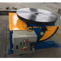 Buy cheap Manually Tube Welding Positioner Auto Stop 900mm Round Slot Table product