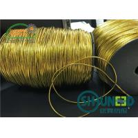 China Custom Gold and Silver Garments Accessories Round Elastic Cord Thread String for Hanging on sale