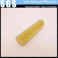 Buy cheap Gear Section Brass Rod Sheet Shining Brass Rod C3800 for Decoration product