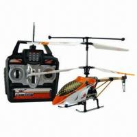 Buy cheap 3-channel RC Helicopter with Gyro, Alloy Material product