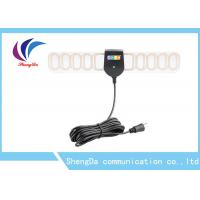 Buy cheap Transparent Wing Shape Flat HDTV Antenna  With Booster And F / IEC Connector product