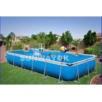 China Custom Outdoor Durable Portable Swimming Pools For Kids On Ground on sale