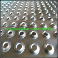 Buy cheap Dimpled perforated metal sheet /extruded perforated metals product
