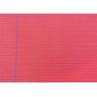 Buy cheap Woven Paper Machine Clothing Polyester Dryer Fabric Blue / Red Color product