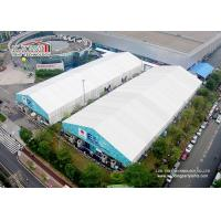 Product Lauch 25m Clear Span Tents With Printing Logo For Temporary Exhibition