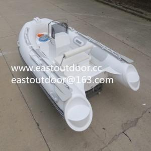 Buy cheap Fiberglass fishing boat, RIB boat, open boat, Rigid inflatable boat RIB330 product