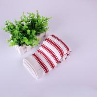 Buy cheap Home Textile  Azo - Free Strip Dish Towels 40*40cm , Red And White Color product