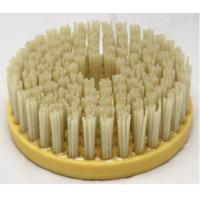 China 200mm Round Shape Diamond Abrasive Brush Long Lasting For Granite / Marble Surface on sale