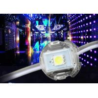 Quality Warm White LED Point Light Source Round Module For Lamppost 20mm 5v 12v Dc for sale