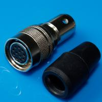 Buy cheap Hirose 12 Pin Female Connector HR10A Mini Audio Connector Black Sleeve product