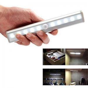 Buy cheap Amazon Portable USB Rechargeable PIR Wireless Lamp Stick Bar wardrobe Light, motion sensor product