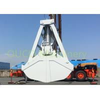 Buy cheap Clamshell discharing Grab Bucket with wireless remote control  material handling product