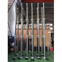 Buy cheap 4.5m lockable telescoping pneumatic CCTV mast for mobile security services product