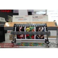 Buy cheap TWINJET SJ-1605 Large Format Inkjet Printer DX5 Eco Solvent Printer Indoor Outdoor With 1440 DPI product