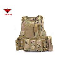 Buy cheap Comfortable Military Bulletproof Vest , Molle Airsoft Paintball Plate Carrier product