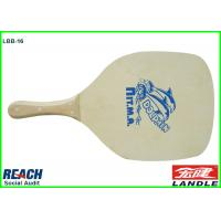 Buy cheap Square Board Wooden Beach Rackets With Wooden Handle For Beach Game product