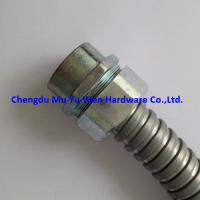 Buy cheap Zinc alloy female thread straight liquid tight fittings with G thread for flexible steel conduit product